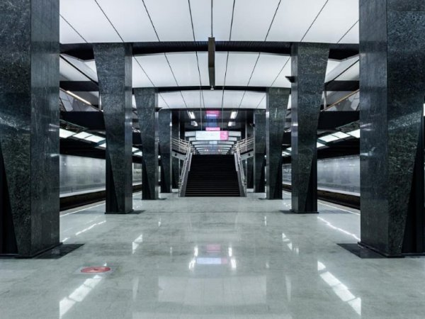 В Москве открыт первый участок Большой кольцевой линии метро