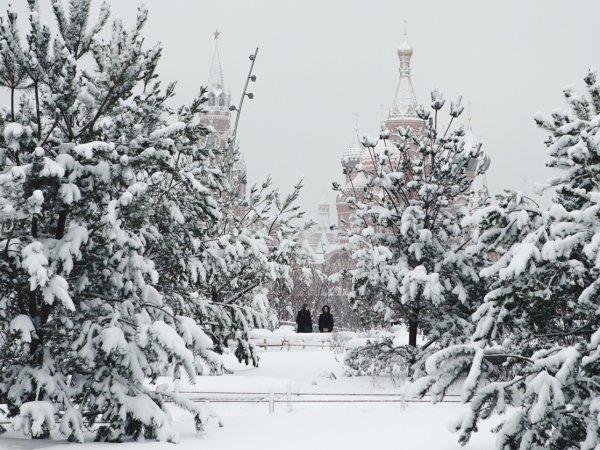 В Москве из-за мощного снегопада погиб человек