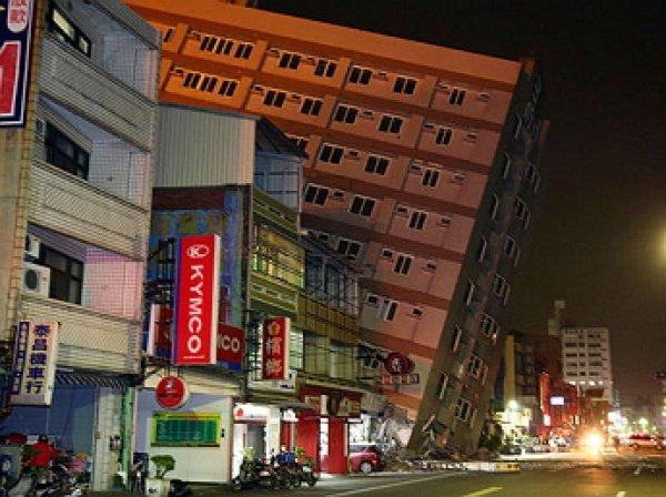На Тайване произошло второе за сутки землетрясение