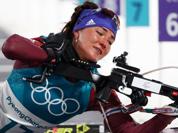 Россияне остались без медалей в смешанной эстафете по биатлону на Олимпиаде 2018
