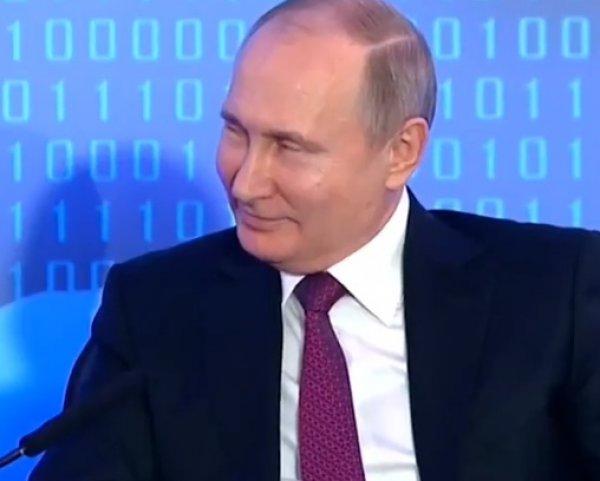 """Куда вас тянет?"": Путин упрекнул олигарха Лисина за пошлый анекдот про тракториста"