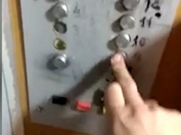 Опубликовано видео самодельного платного лифта в Казахстане