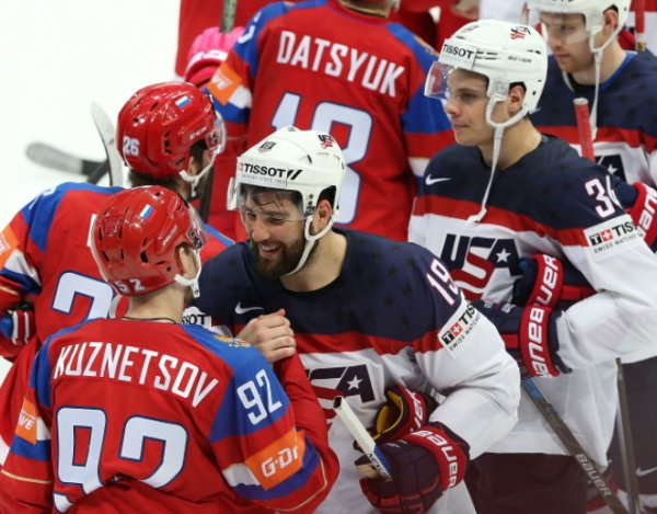 Сборные России и США сыграют в матче группового этапа Олимпиады