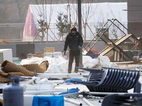 Число пострадавших из-за сильного ветра на Олимпиаде в Пхенчане  выросло до 16 человек