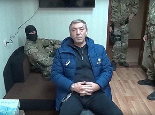 Опубликовано видео задержания членов правительства Дагестана