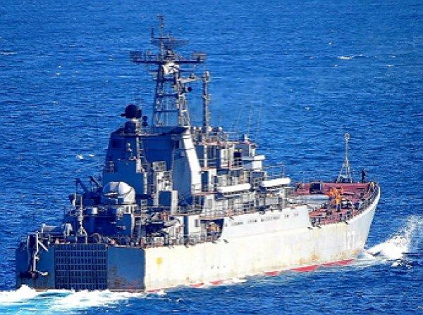 Россия отправила в Сирию большой десантный корабль