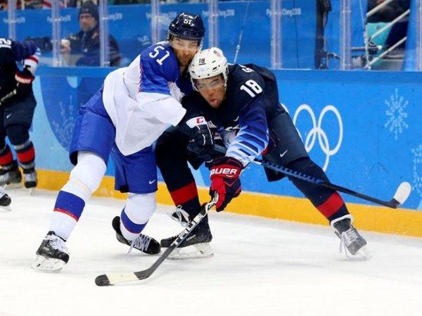 Хоккей США - Чехия: счет 2:3, обзор матча 21.02.2018, голы, результат Олимпиада 2018 (ВИДЕО)