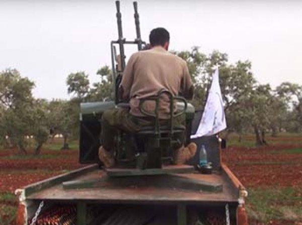 """Боевик """"Кастро"""" взял на себя ответственность за сбитый в Сирии российский Су-25"""