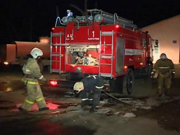 Жертвами пожара в Москве стали два человека