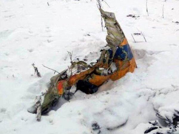 Крушение самолета АН-148 в Подмосковье попало на видео