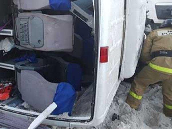 Крупная авария в Башкирии с автобусом: 9 погибших