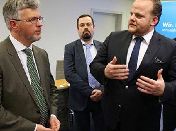 Немецкий депутат побывал в Крыму, признал его безопаснее Германии и ответил на угрозы Киева