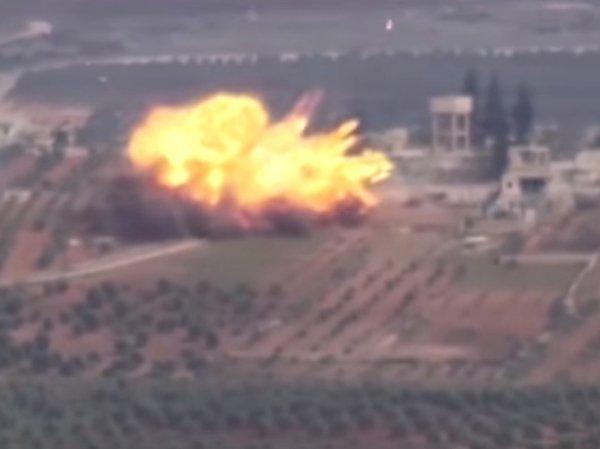 Опубликовано уничтожение турецкого танка курдской девушкой