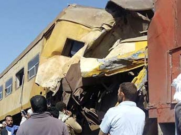 Два поезда столкнулись в Египте: 19 человек погибли, почти 40 пострадали