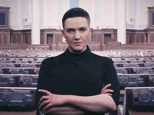"""Савченко припугнула депутатов Рады Украины """"бабахом"""""""