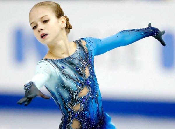 13-летняя российская фигуристка Трусова впервые в истории исполнила четвертной лутц (ВИДЕО)