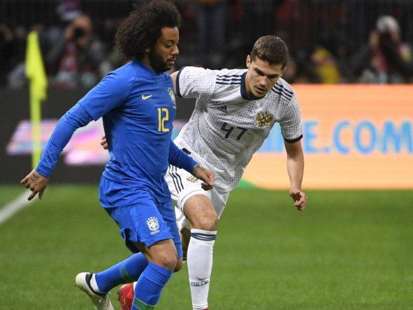 Россия – Бразилия: счет 0:3: обзор матча от 23.03.2018, видео голов, результат (ВИДЕО)