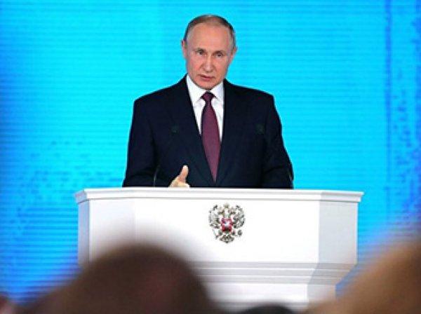 В США высмеяли показанное Путиным новое российское оружие