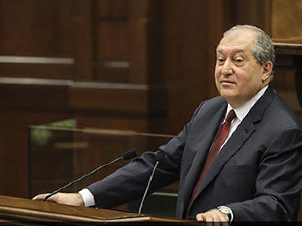 В Армении впервые в истории страны президент страны избран парламентом