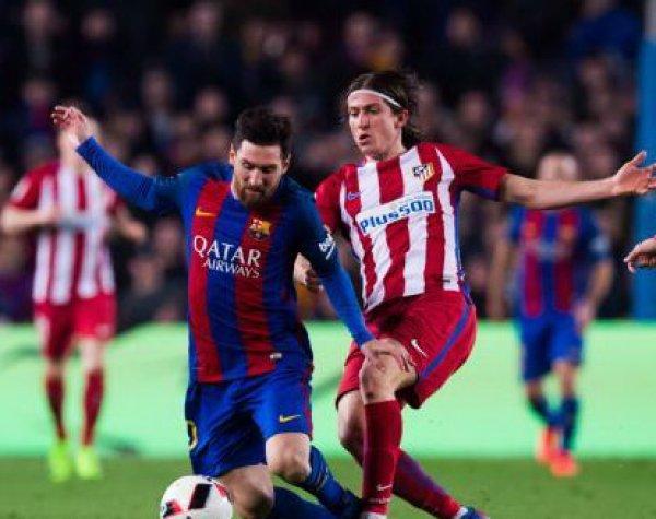 """Барселона"" - ""Атлетико"": счет 1:0 принес гол Месси"
