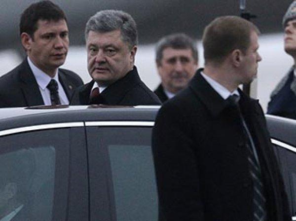 Кортеж Порошенко в Киеве сбил пенсионера