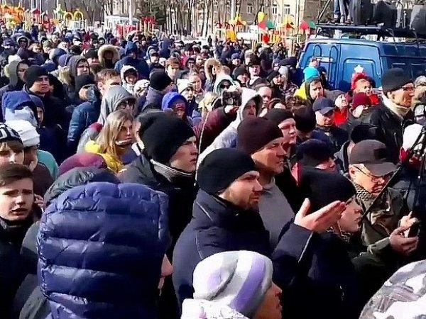 Вице-губернатор Кузбасса назвал митинг в Кемерово акцией против власти