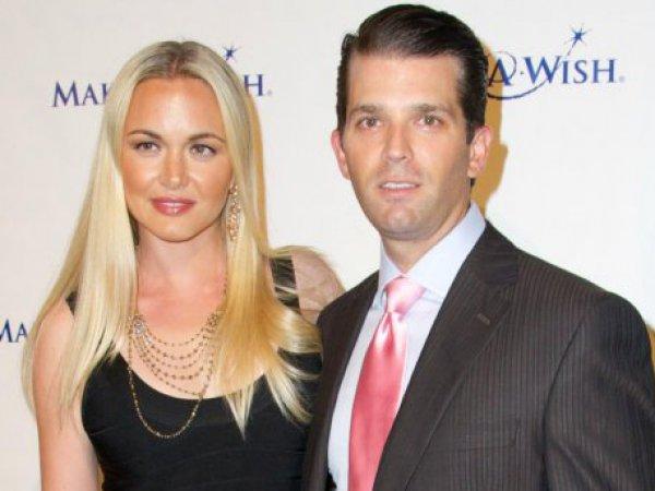СМИ: жена Дональда Трампа-младшего подала на развод