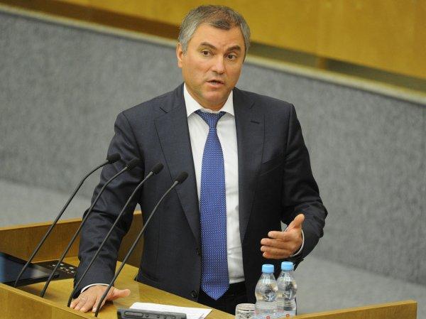 Володин предложил опасающимся работать в Думе журналисткам поменять работу