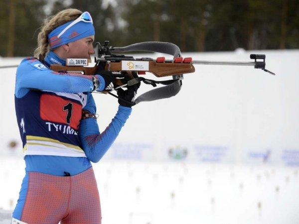 Россиянки проиграли в эстафете по биатлону на этапе КМ в Хольменколлене