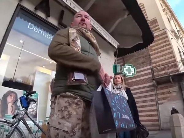 На YouTube опубликовали видео стычки Шейнина с бойцом АТО в Вероне
