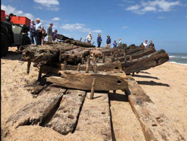 На побережье Флориды нашли обломки корабля XVIII века