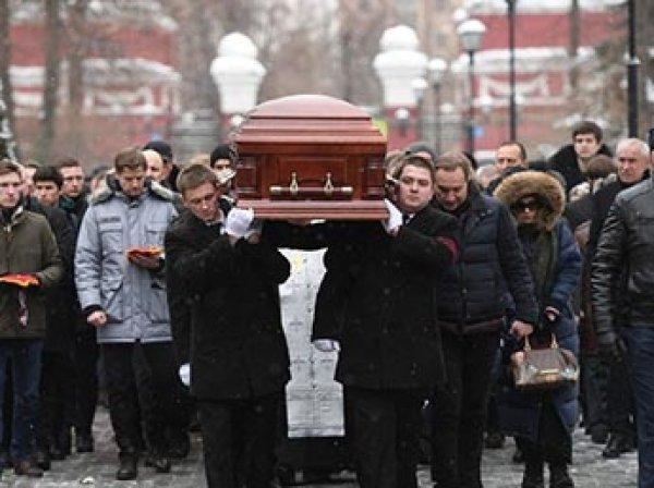 Олега Табакова похоронили рядом с Броневым, Зельдиным и Глазуновым