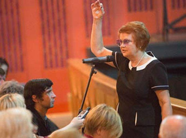 В Москве скончалась народная артистка РФ Наталья Попович