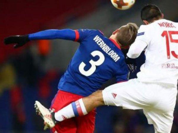 """""""Лион"""" и ЦСКА сразятся в Лиге Европы"""