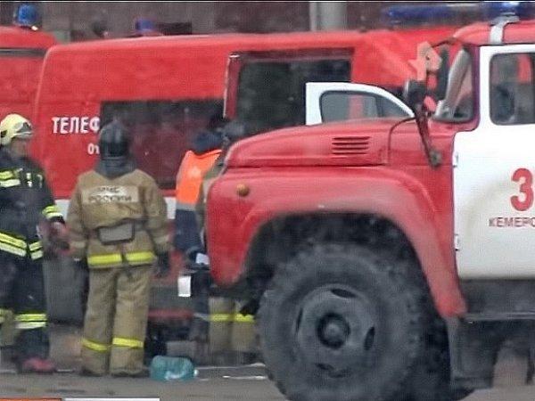 СКР: охранник ТЦ в Кемерово отключил пожарную сигнализацию после ее срабатывания