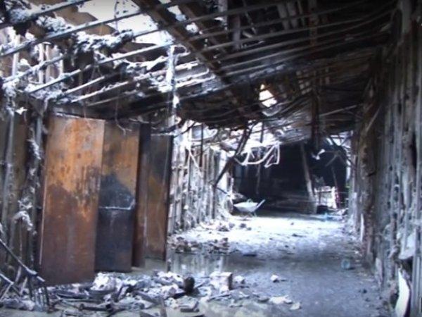 Mash: управляющая ТЦ в Кемерове чудом выжила при пожаре в дачном доме