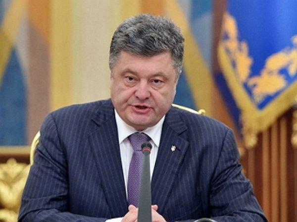 Порошенко заявил о «разоблачении» Савченко и Саакашвили