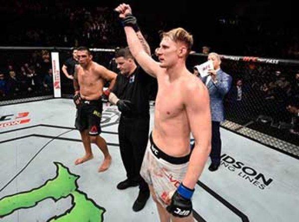 Российский Боец ММА Волков нокаутировал экс-чемпиона UFC бразильца Вердума
