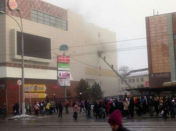 На YouTube появилось первое видео, снятое внутри сгоревшего ТЦ в Кемерове