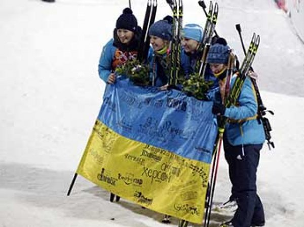 Украина запретила своим спортсменам участвовать в спортивных соревнованиях в России