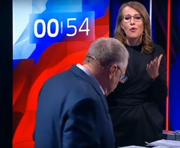 Виторган ответил Жириновскому за оскорбления Собчак во время дебатов
