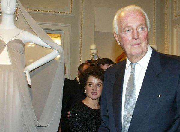 Скончался французский модельер Юбер де Живанши
