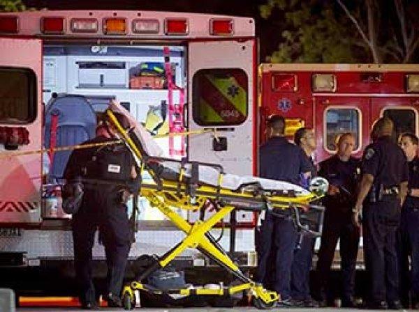 В США автобус с 52 школьниками сорвался в пропасть