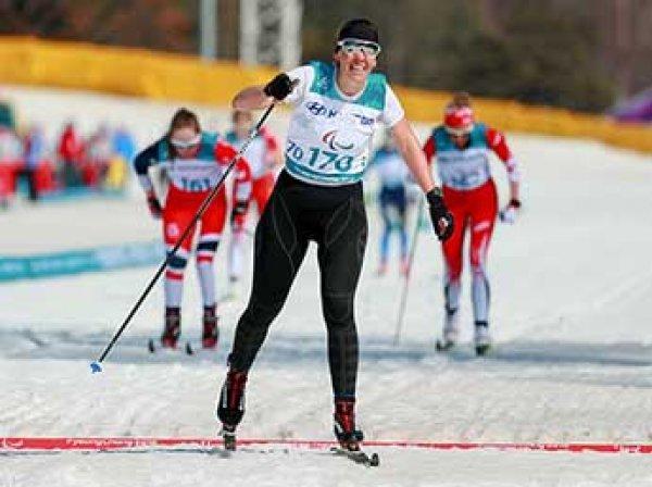 Россиянка Анна Миленина завоевала золото Паралимпиады-2018 в лыжном спринте