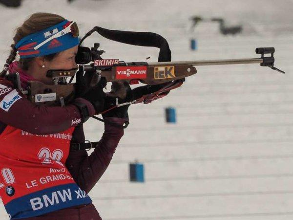 Россиянки снова провалили спринт по биатлону