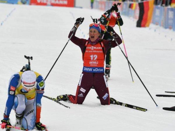 Россияне провалили супермикст на этапе КМ по биатлону