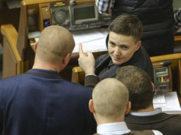 Надежду Савченко задержали прямо в здании Верховной Рады