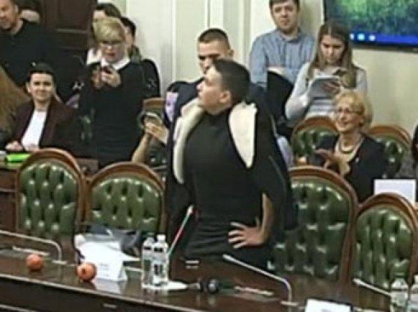 Савченко принесла гранаты в Раду, а та поддержала арест летчицы