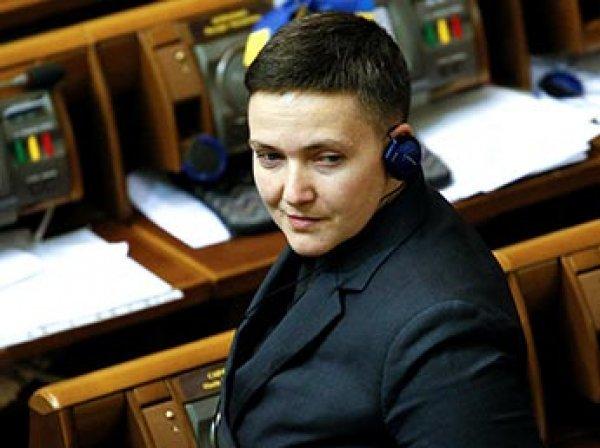 Савченко принесла в Раду Украины сумку гранат и пистолет