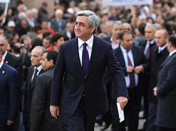 В США уход премьера Армении Саргсяна назвали уроком Путину